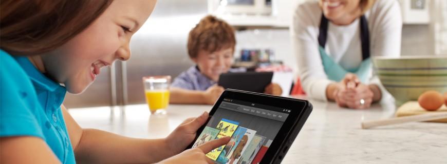 Amazon  นำ kindle รุกตลาดแท็บเล็ตสำหรับเด็ก พร้อมด้วยฟีเจอร์ใหม่