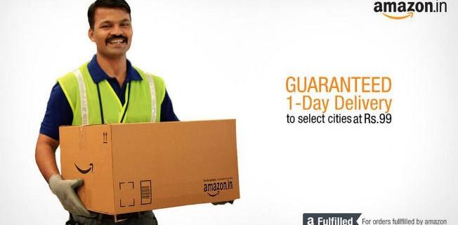 Amazon India เปิดบริการ Pickup จุดรับสินค้าในมุมไบและเดลี