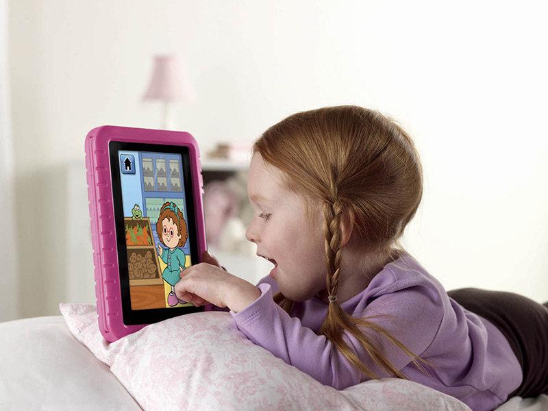 Amazon , kindle ,แท็บเล็ต,สำหรับเด็ก