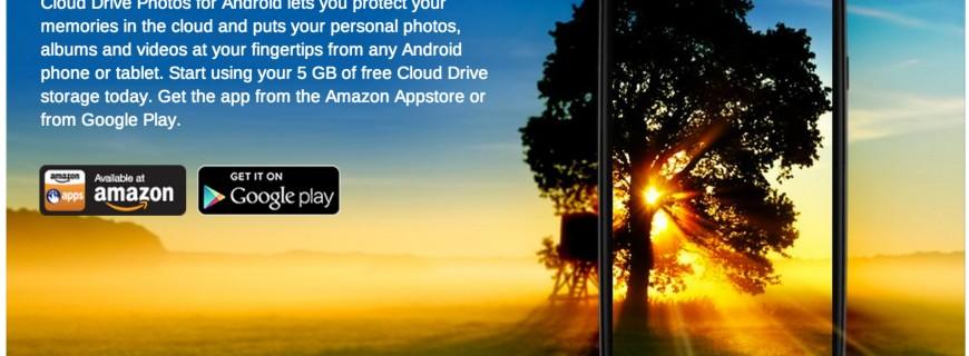 Amazon รวมไฟล์ส่วนตัวใน Kindle ไว้กับ Cloud Drive