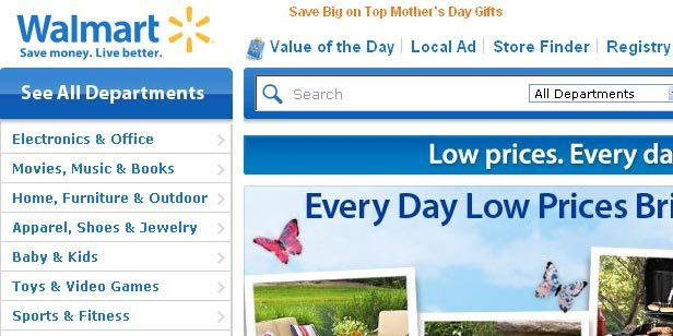 Walmart ,amazon,ยอดขาย