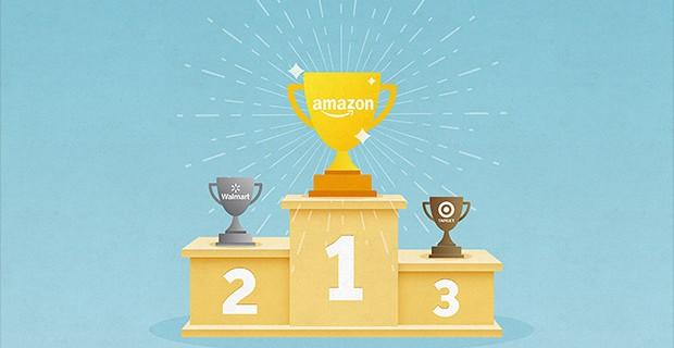 บริษัท Amazon ตอนนี้มีมูลค่าสูงกว่า Walmart เสียอีก